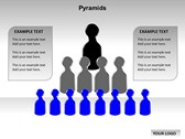 Pyramid Chart power Point templates