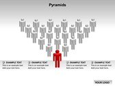 Pyramid Chart backgroundPowerPoint Templates