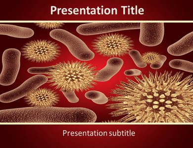 Bacteria Infections Powerpoint Templates