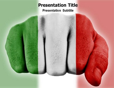 italy history powerpoint(ppt) templates|ppt template for italy, Modern powerpoint