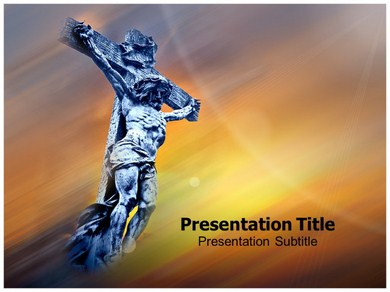 Jesus Hands Powerpoint Templates