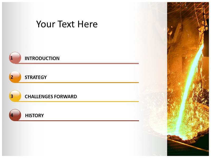 Foundry Powerpoint Templates