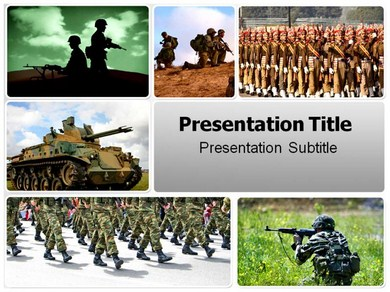 Army Ranks Powerpoint Templates