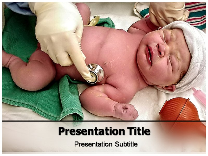 Children Hospital Powerpoint Templates