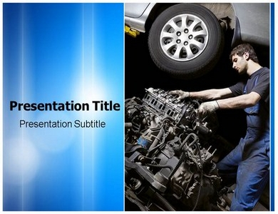 Automobile Transmission Powerpoint Templates