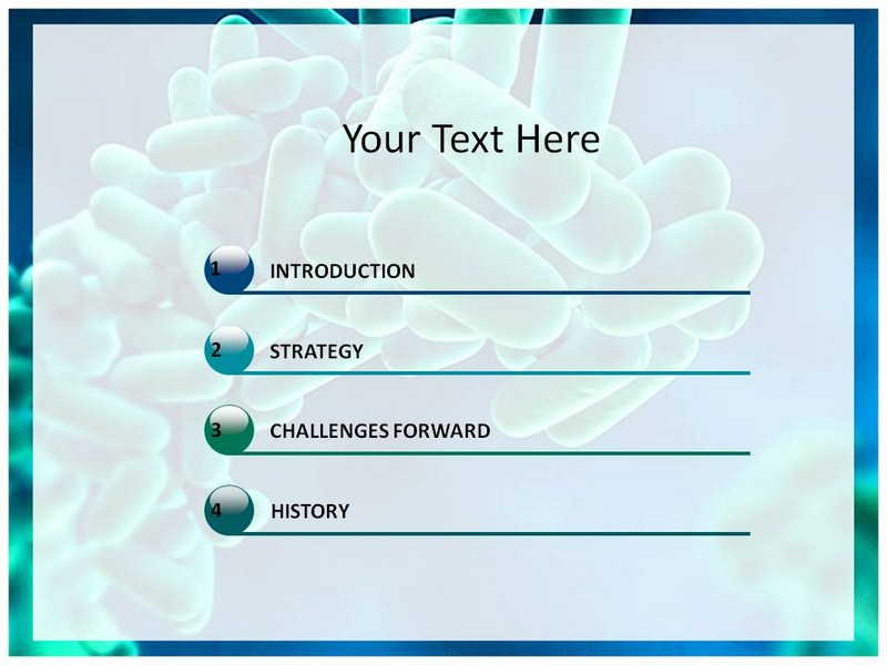 powerpoint templates free download microbiology gallery, Modern powerpoint