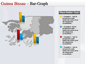 Map of Guinea Bissau  slides for powerpoint