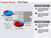 Map of Guinea Bissau  backgroundPowerPoint Templates