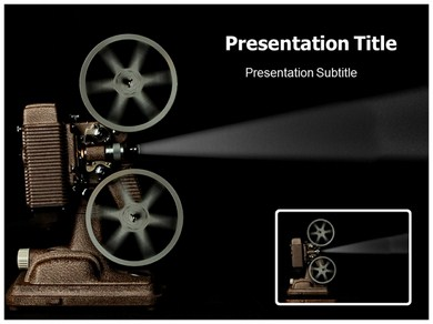 Movie Projector Powerpoint Templates | Powerpoint Presentation On