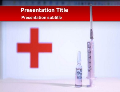 Doctor Syringe Powerpoint Templates
