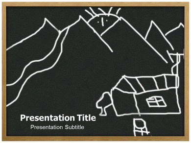 Child Drawing Powerpoint Templates