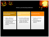 Halloween Facts power Point Backgrounds