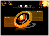 Halloween Facts design for power point