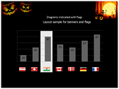 Halloween Facts power point background templates