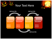 Halloween Facts power point background graphics