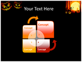 Halloween Facts power Point templates