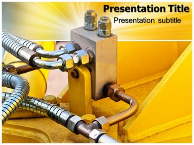 Hydraulic  Powerpoint Templates