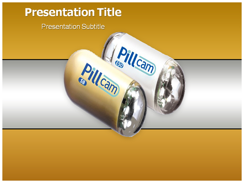 Pill Camera Powerpoint Templates