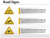 Traffic Signals Chart powerPoint background