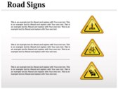 Traffic Signals Chart powerpoint backgrounds download