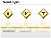 Traffic Signals Chart powerpoint backgrounds