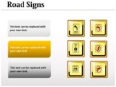 Traffic Signals Chart powerPoint templates