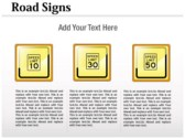 Traffic Signals Chart powerpoint template download