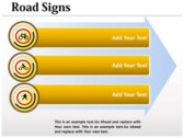 Traffic Signals Chart slides for powerpoint