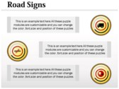 Traffic Signals Chart power Point templates