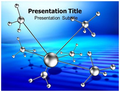 Molecule Living Powerpoint Templates
