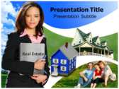 Real-Estate-Animated powerPoint template