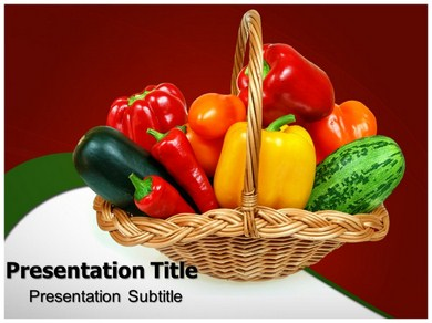 Vegetables 1 Powerpoint Templates