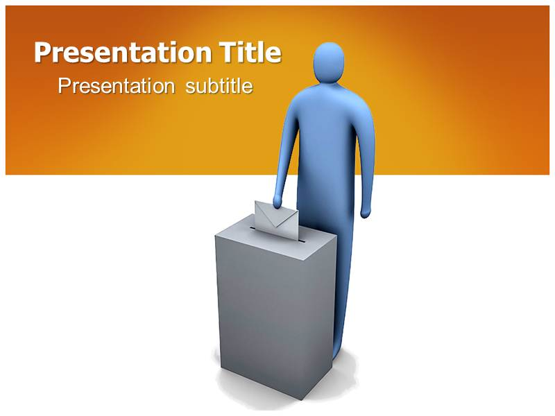 voting powerpoint ppt templates powerpoint template for voting