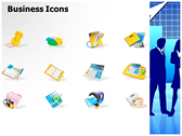 Business Silhouettes Pictures ppt themes template