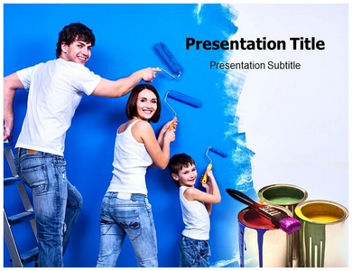 Wall Painting Stencils Powerpoint Templates