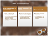 Coffee power Point Backgrounds