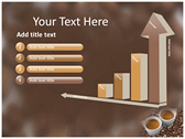 Coffee background PowerPoint Templates