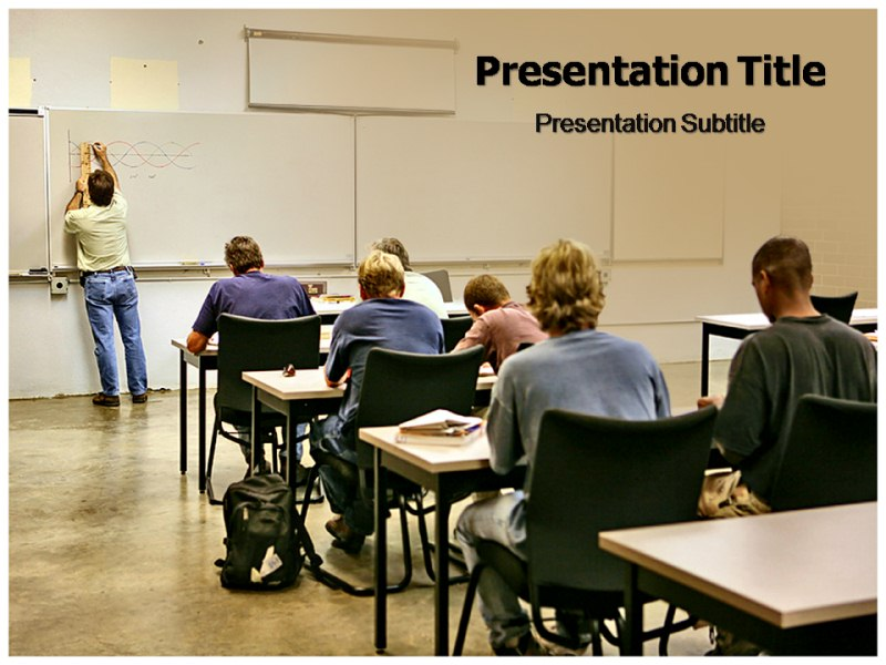 Adult Education Powerpoint Templates