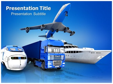 Transport Road Powerpoint Templates