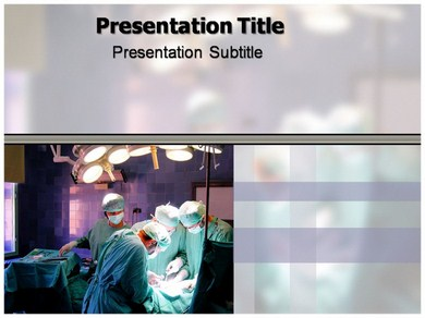 Surgery types Powerpoint Templates