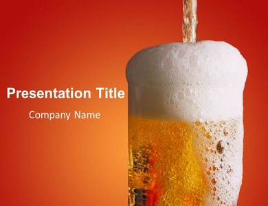 Drink Recipes Powerpoint Templates
