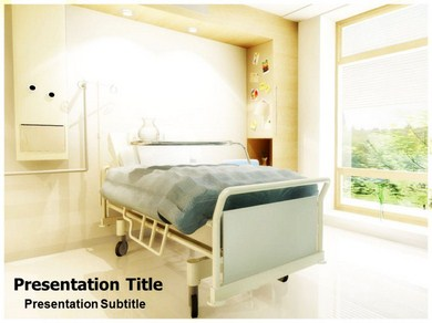 Free Powerpoint Hospital Room Templates And Backgrounds