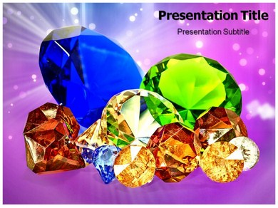 Gems Powerpoint Templates