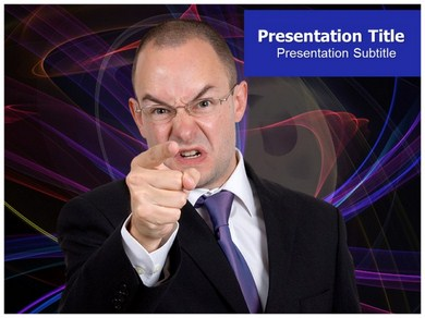 Anger Powerpoint Templates