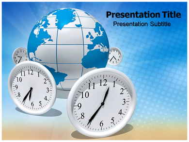 Time Difference Powerpoint Templates