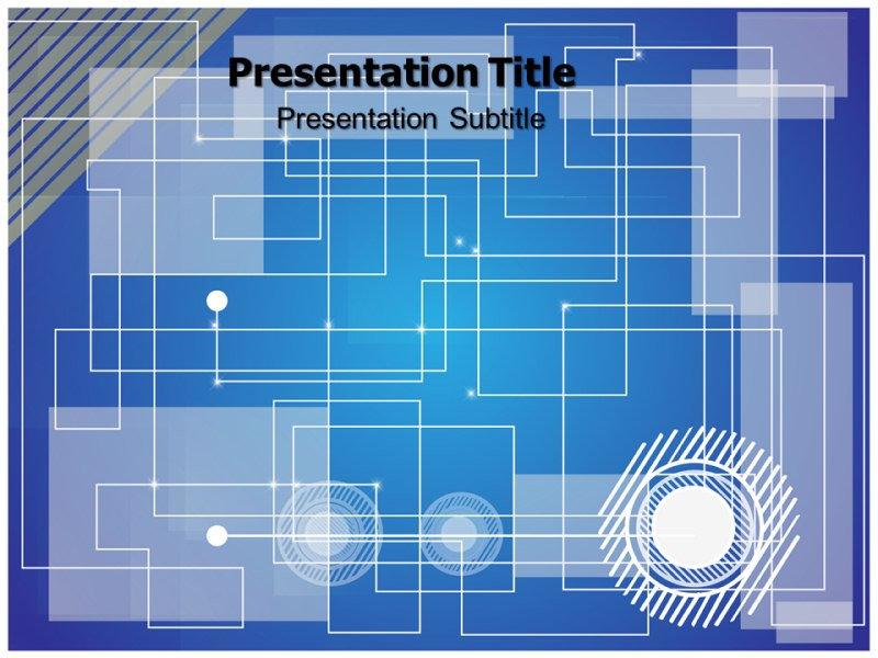 futuristic technology powerpoint template, backgrounds & slides, Presentation templates