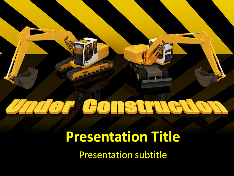 Under construction powerpoint templates under construction ppt my toneelgroepblik Choice Image