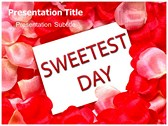 Sweetest day powerPoint template