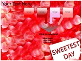 Sweetest day themes for power point