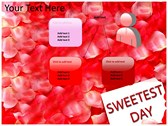 Sweetest day powerPoint themes